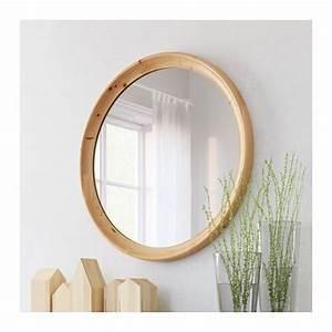 Ikea Miroir Rond : stabekk miroir brun clair ikea salle de bain pinterest miroir salle de bain et salle ~ Teatrodelosmanantiales.com Idées de Décoration