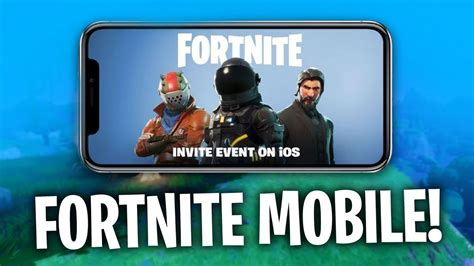 fortnite mobile ios gameplay youtube