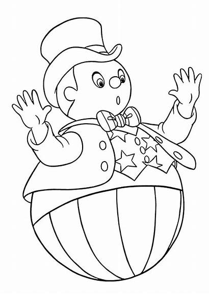 Coloring Noddy Pages Cartoon Cartoons Printable Books