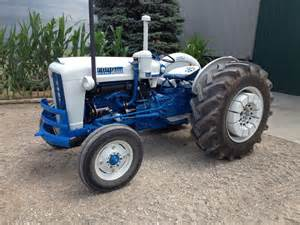 1963 Ford 4000 Diesel Tractor