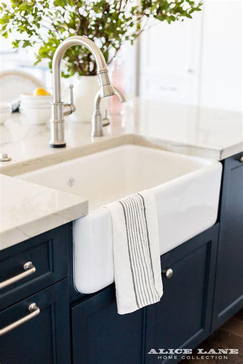 white kitchen  navy blue island reno ideas home