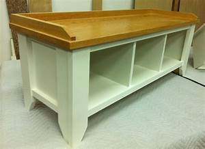 Solid, Wood, Entryway, Bench, With, Shoe, Storage