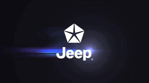 jeep logo screensaver jeep logo animado para placa final comercial youtube