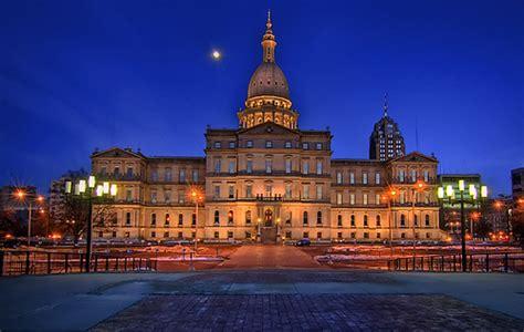 Lansing Michigan Capital HDR | View On Black | Bryant ...