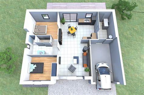 plan maison 2 chambres plan de maison datis nl 2 personnalisable