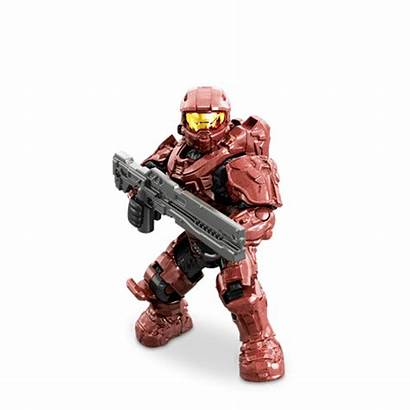 Unsc Spartan Mark Crimson Fireteam Battle Halo