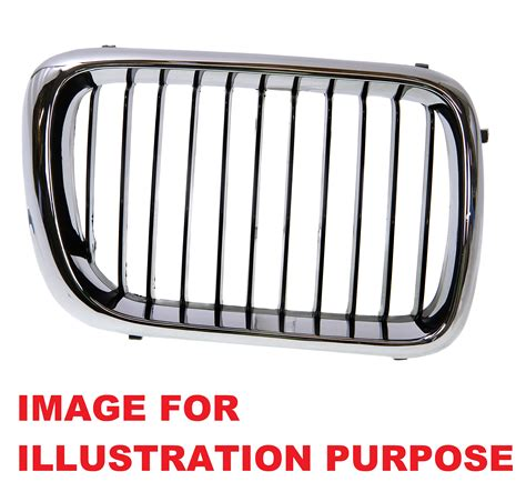 Body Front Right Os Bumper Grille Cover Air Intake Grill