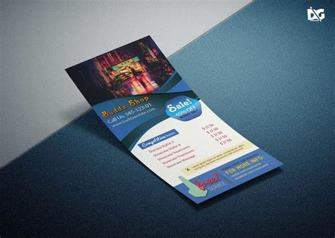 template ideas  rack card stunning ms word pages