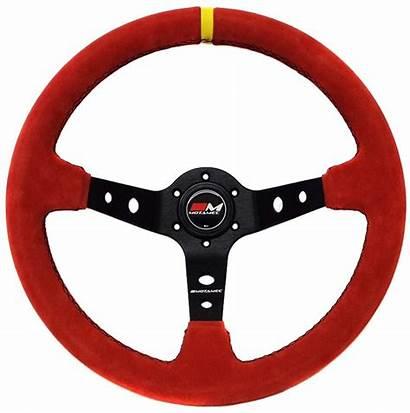 Steering Wheel Deep Dish Motamec 350mm Rally