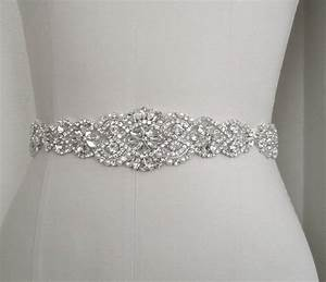 wedding bridal sash belt crystal pearl wedding dress sash With wedding dress sashes and belts