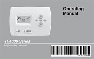 Honeywell Pro 4000 5-2 Day Programmable Thermostat