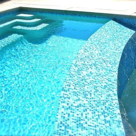 pool mosaic tiles brio blend cool pool blue glass mosaic tile swim
