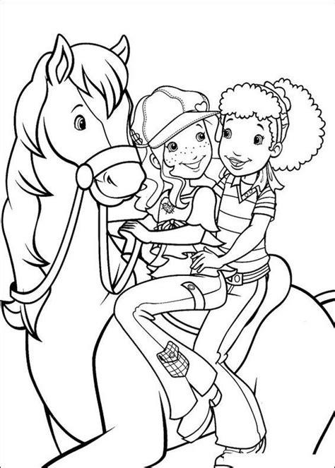 Kleurplaat Rapunzel Paard by Kleurplaat Paard Paarden