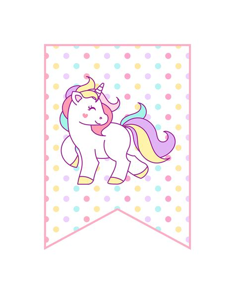 free unicorn birthday printables for free printable unicorn decorations the cottage market