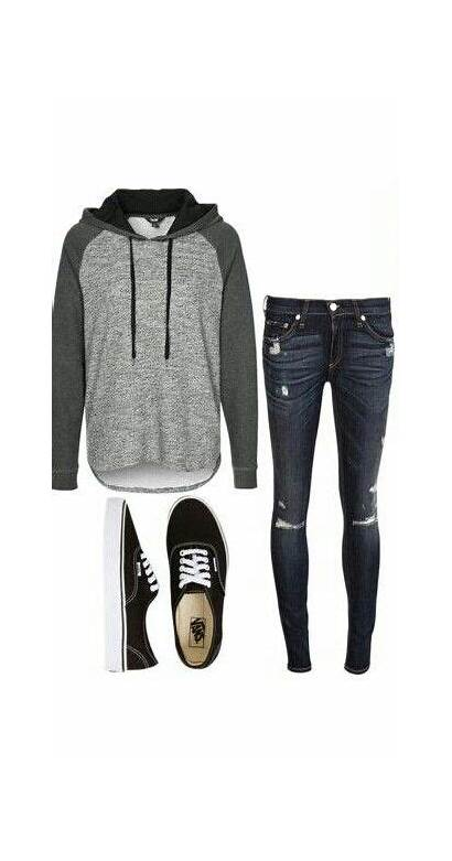 Outfits Vans Tomboy Teen Outfit Casual Teens