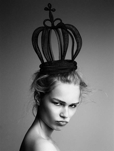 Anna Ewers for Interview Magazine by Patrick Demarchelier