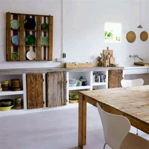 cuisine nature muebles de cocina con palets