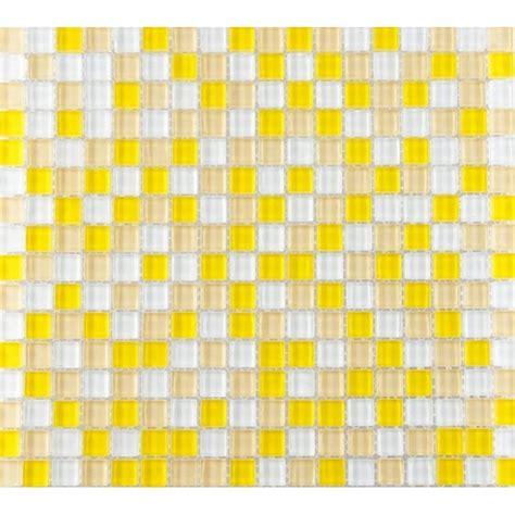 green subway tile kitchen backsplash yellow and white glass mosaic glossy tile backsplash wall