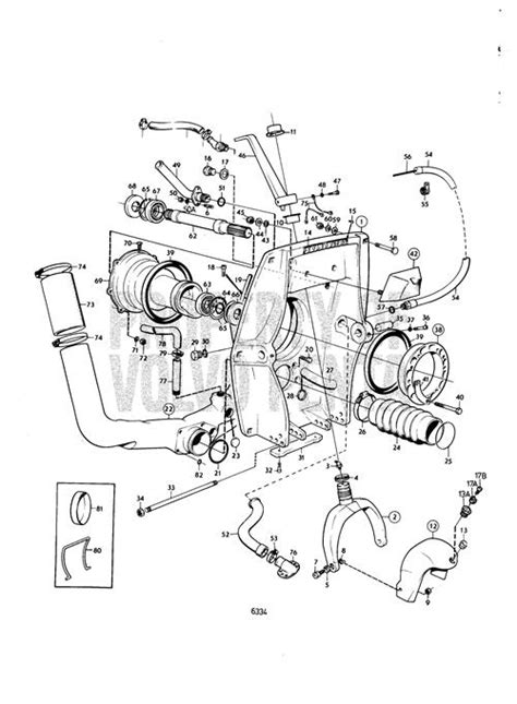 Volvo Parts Diagrams by Volvo Penta Exploded View Schematic Connecting
