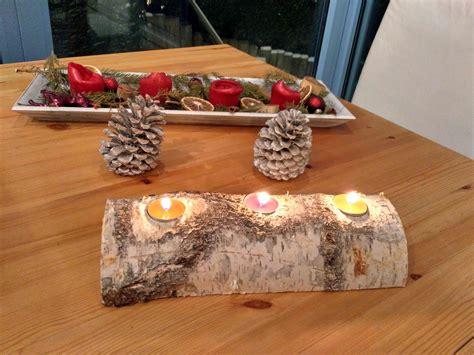 teelichthalter selber basteln weihnachten holz teelichthalter basteln der wohnsinn
