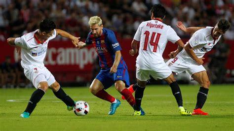Barcelona vs. Sevilla: Intensidad y vértigo en el duelo de ...