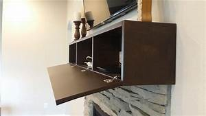 Buy A Handmade Fireplace Mantel With Hidden Storage Made