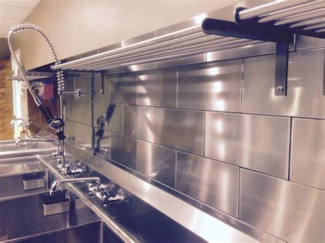 commercial kitchen backsplash commercial kitchen a collection of ideas to try about home decor restaurant stainless steel
