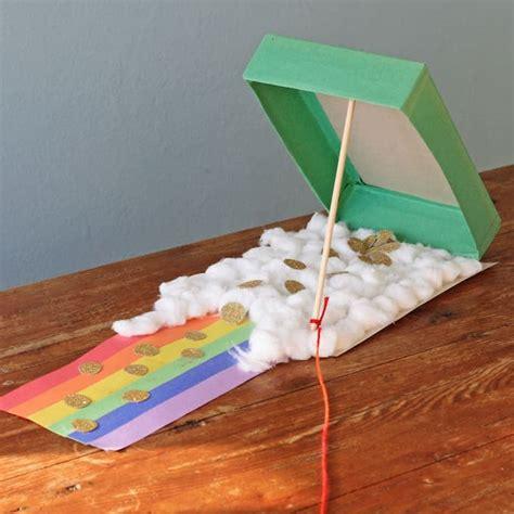 cereal box leprechaun trap  fun st patricks day craft