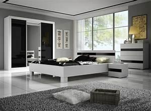 moderne chambre a coucher complete archzinefr With tapis de sol avec lit armoire avec canapé