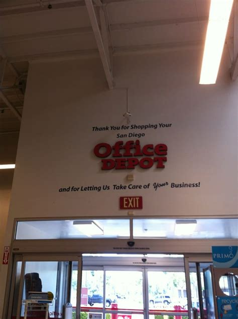 Office Depot Hours San Diego by Office Depot Office Equipment 14331 Penasquitos Dr