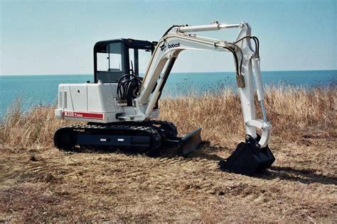 bobcat celebrates  years  compact excavators