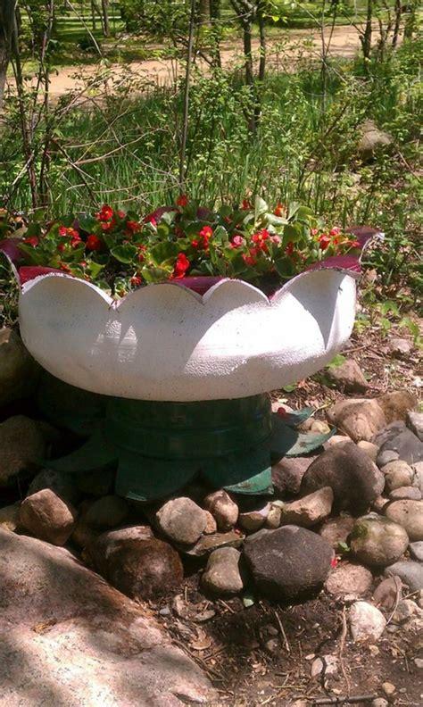 Garten Gestalten Mit Autoreifen by Kreative Gartentipps Pflanzencontainer Aus Alten Autoreifen