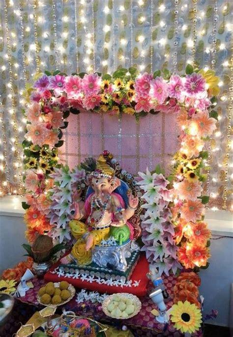 Garden Decoration For Ganpati by Ganesh Chaturthi Decoration Ideas Ganesh Pooja Decor