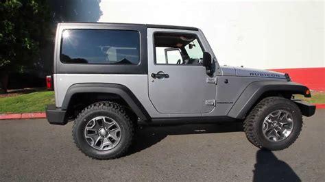 jeep wrangler grey 2 door el105311 2014 jeep wrangler rubicon dcj of kirkland