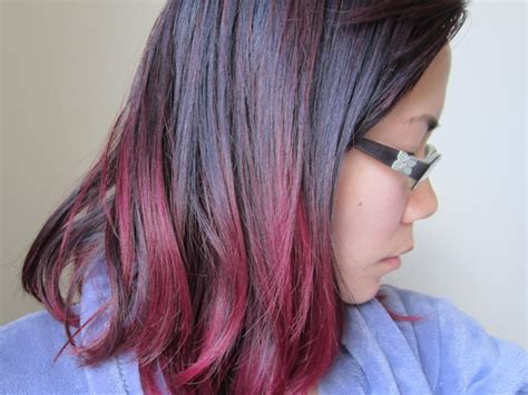 fuschia hair color hair color update manic panic purple fuschia shock