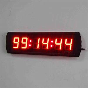 Large Digital Wall Clock with Seconds - Decor IdeasDecor Ideas