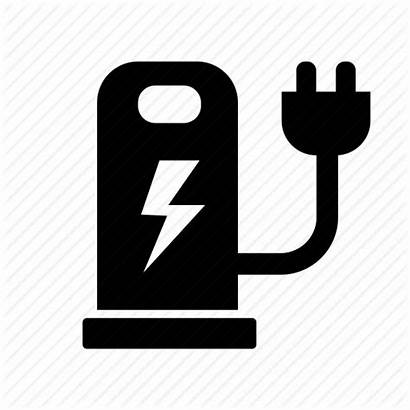 Icon Electric Charger Hybrid Clipart Plugin Electricity