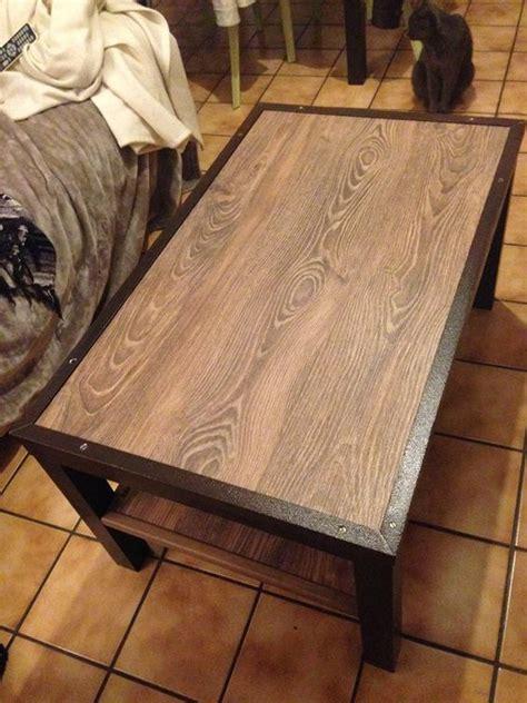 table lack industrielle bricolage table basse lack table basse ikea et mobilier de salon