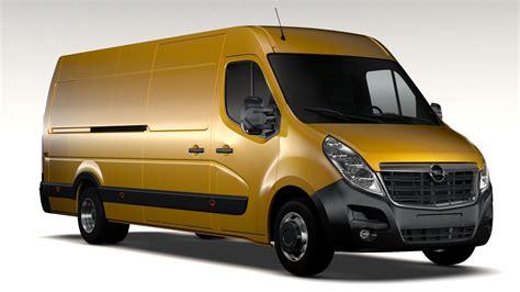 Opel Movano by Opel Movano L4h2 2016 3d Model Flatpyramid