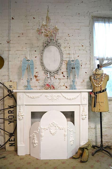 cottage chic camini shabby chic ecco 40 idee originali e decorative