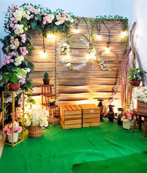 Diy Rustic Backdrop by Diy Rustic Wedding Decorations On A Budget Backdrops