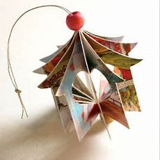 Recycled Christmas Card Ornament — Totally Green Crafts