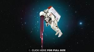 Astronaut HD wallpaper