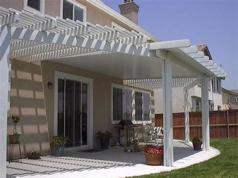alumawood laguna lattice newport solid patio covers