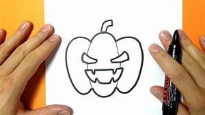 Dessin Facile Halloween : comment dessiner une citrouille pour halloween tuto ~ Melissatoandfro.com Idées de Décoration