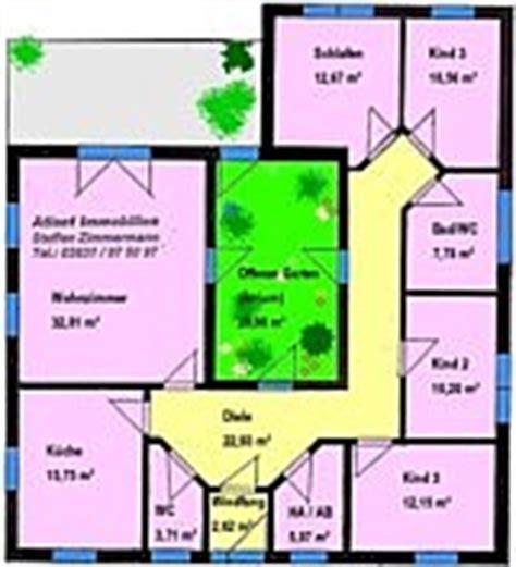 Bungalow Mit Innengarten by Atrium Hauptseite Bungalow Winkelbungalow Einfamilienhaus