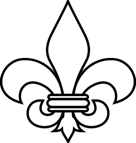 antique pot ls fleur de lis outline clip art at clker com vector clip