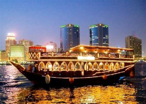 Big Boat Dubai by Dhow Cruise Dinner In Creek Dubai Adventures Tours And