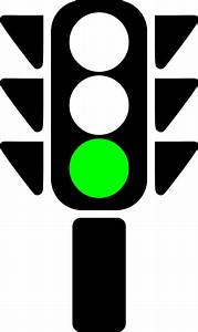 Traffic Semaphore Green Light Clip Art at Clker.com ...