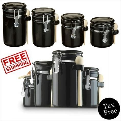 black kitchen storage canisters 25 best ideas about flour storage on flour 4720